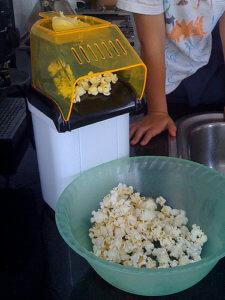 Popcornmaschine Heißluft